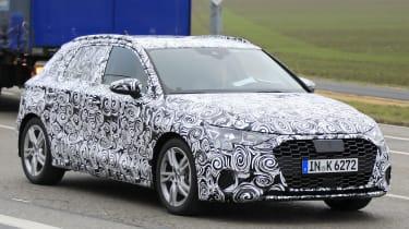 2019 Audi A3 front quarter