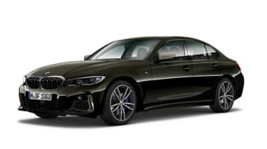 Leaked BMW 3 Series - front black