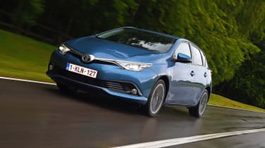 New Toyota Auris 2015 front