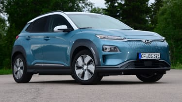 Hyundai Kona electric static front