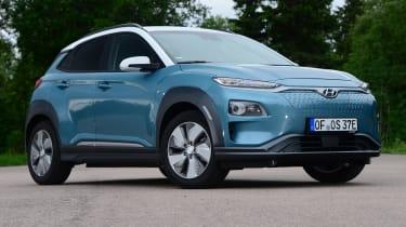 Hyundai Kona electric static front
