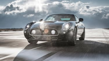 David Brown Automotive Speedback Silverstone edition front action