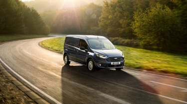New Ford Transit Connect and Courier - front