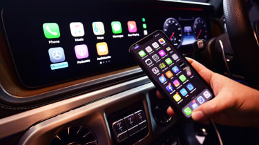 Mercedes-amg g 63 long-termer apple carplay