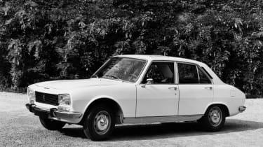 Peugeot 504 - side profile