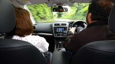 Subaru Outback - driving