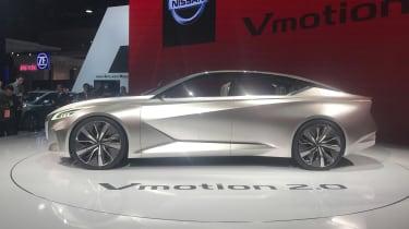 Nissan Vmotion 2.0 concept - Detroit side