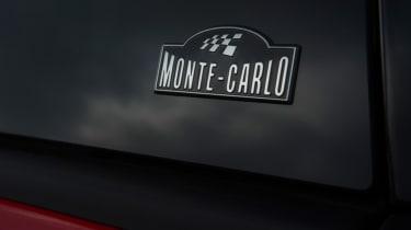 Triple test –Skoda Citigo - Monte Carlo badge