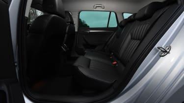 Skoda Superb iV - rear seat