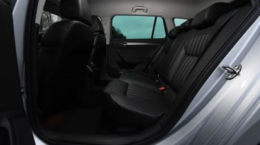 Skoda Superb iV - rear seat