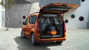 Vauxhall Combo-e Life - boot