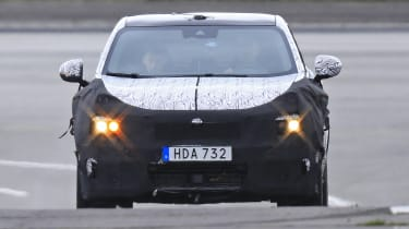 Lynk & Co Coupe-SUV spied  - head on tracking