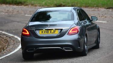 Mercedes C-Class - rear