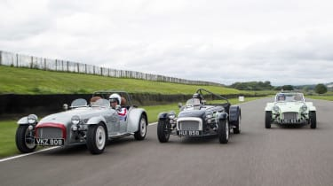 Caterham Seven SuperSprint - action