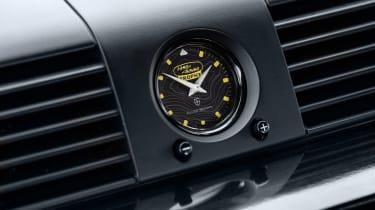 Land Rover Defender Works V8 Trophy - clock