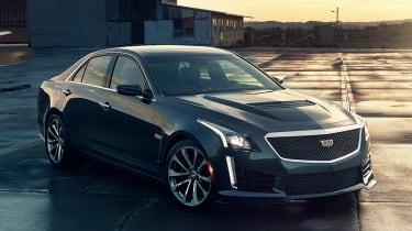 Cadillac CTS-V front static