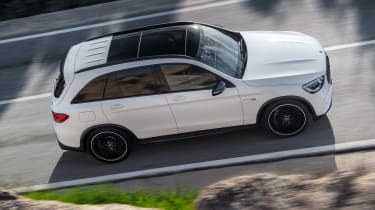 Mercedes-AMG GLC 63 - above action