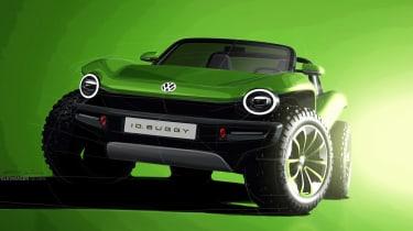 Volkswagen ID. Buggy concept - front