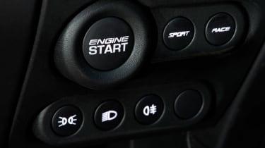 Lotus Exige Sport 350 - start button