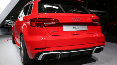 Audi RS3 Sportback 2017 - Geneva rear quarter