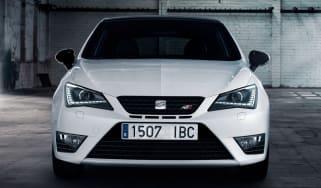 SEAT Ibiza Cupra front action