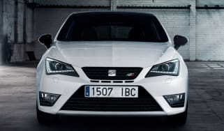 SEAT Ibiza Cupra front action
