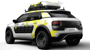 Citroen C4 Cactus Aventure concept rear