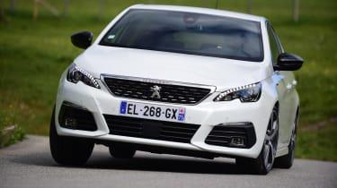 Peugeot 308 - front cornering