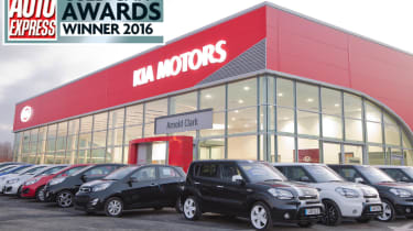 kia approved used award