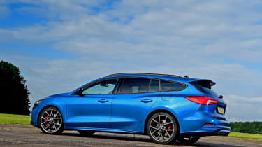 Ford Focus ST Estate - rear static