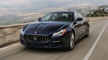 Maserati Quattroporte Diesel 2016 - front tracking