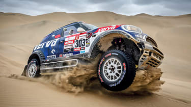Dakar Rally - header