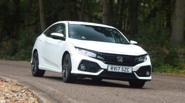 Honda Civic - front cornering