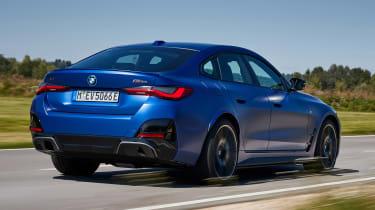 BMW i4 - rear action