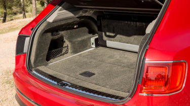 Bentley Bentayga luxury SUV boot