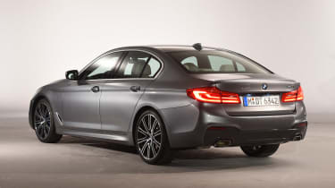 BMW 5 Series - studio rear