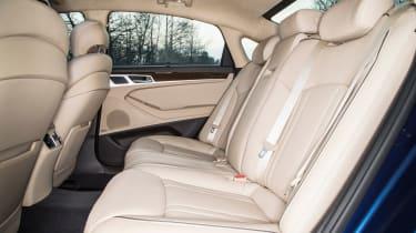 Hyundai Genesis UK 2015 rear seats