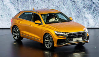 New Audi Q8 reveal - front