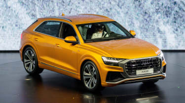 New Audi Q8 reveal - front