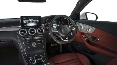 Mercedes C-Class Coupe - interior