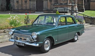 Ford Cortina front quarter