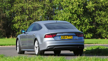 Audi A7 - rear cornering
