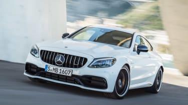 Mercedes-AMG C 63 S - front cornering