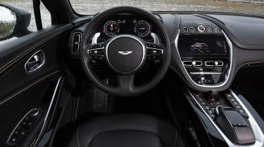 Aston Martin DBX prototype - dash