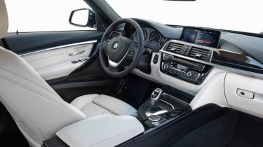 BMW 3 Series 2015 facelift - interior