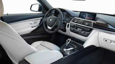 BMW 3 Series 2015 facelift - interior