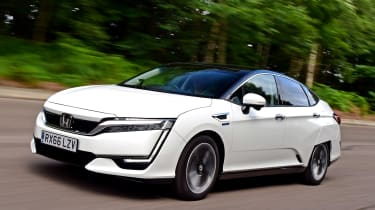 Honda Clarity - front