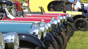 Austin Seven headlights