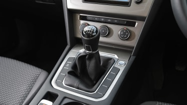 Volkswagen Passat - centre console