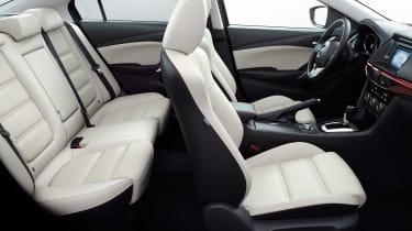 Mazda 6 side interior profile